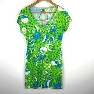 Lilly Pulitzer Dress Limeade Roar Jungle Daniella